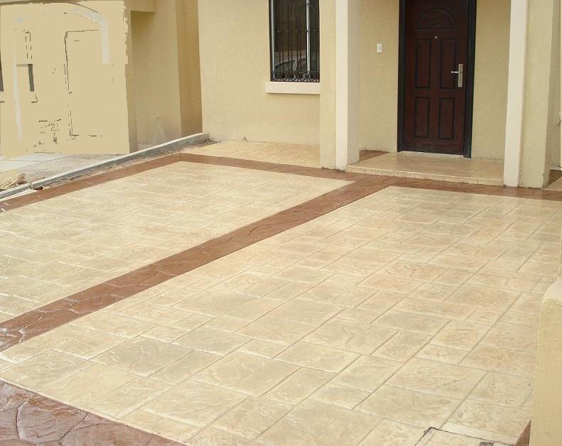 Concretos decorativos for Cemento estampado fotos