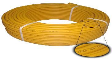 Tubo Amarillo para gas